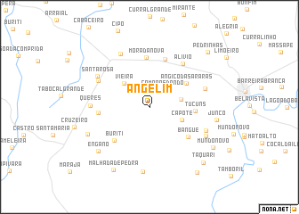 map of Angelim