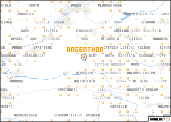 map of Angenthör