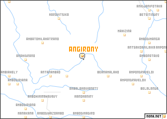 map of Angirony