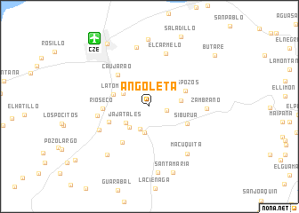 map of Angoleta