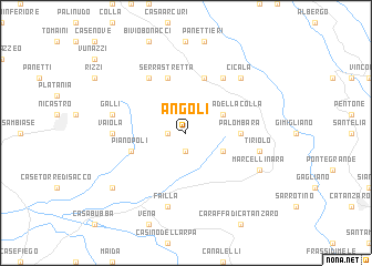 map of Angoli