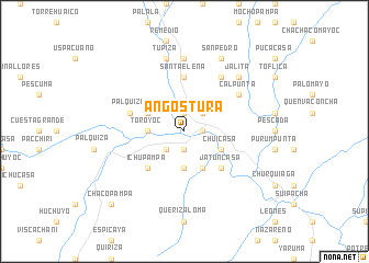 map of Angostura