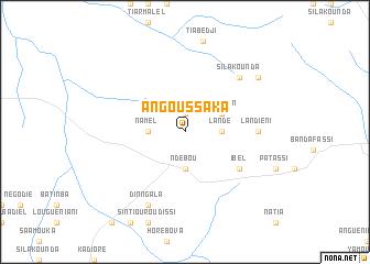 map of Angoussaka