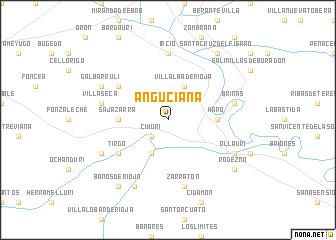 map of Anguciana