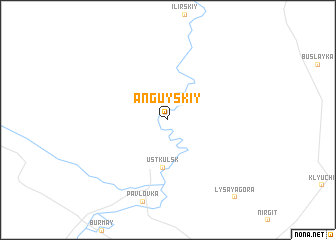 map of Anguyskiy