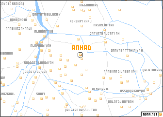 map of Anhad