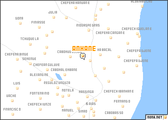 map of Anhane