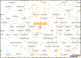 map of Anhauan