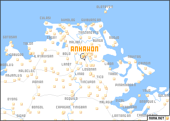 map of Anhawon