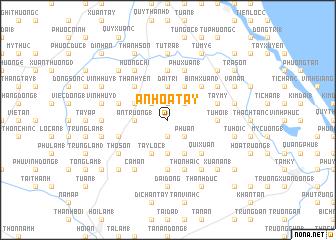 map of An Hòa Tây