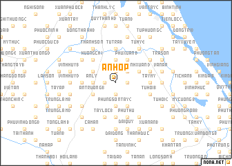 map of An Hợp