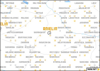 map of Anielin