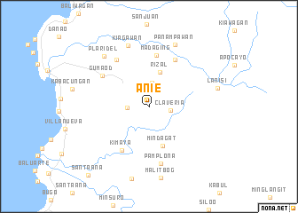 map of Ani-e