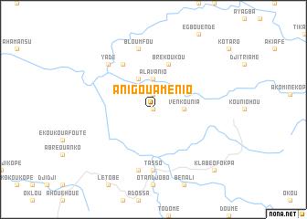 map of Anigouaménio