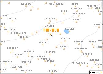 map of Anikovo