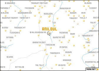 map of Aniloul
