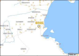 map of Aniog