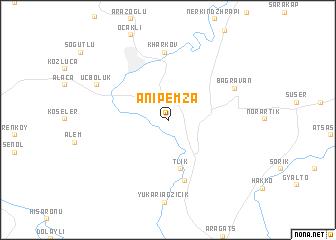 Anipemza (Armenia) map - nona.net