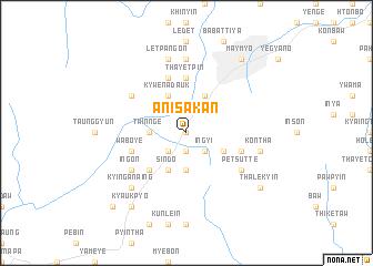 map of Anisakan