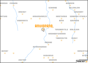 map of Anivorano
