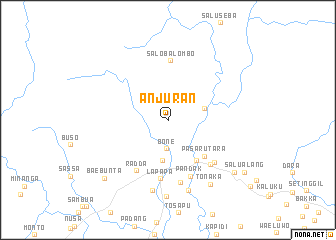 map of Anjuran