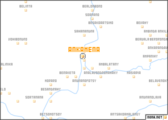 map of Ankamena