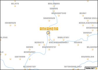 map of Ankamena