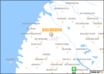 map of Ankarana