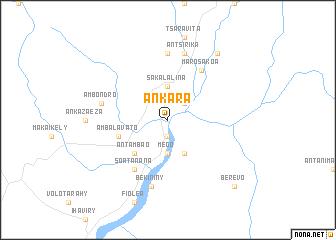 Ankara (Madagascar) map - nona.net