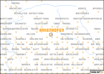 map of Ankenhofen