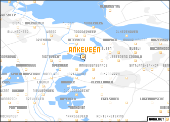 map of Ankeveen