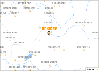 map of Ankiabe
