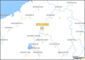 map of Ankiabe