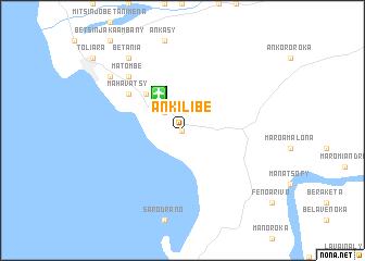 Ankilibe Madagascar map nonanet