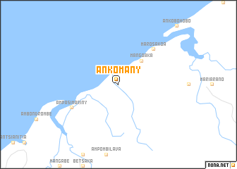 map of Ankomany