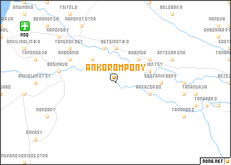map of Ankorompony