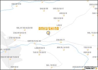 map of Ankushina