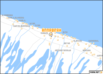 map of An Nabrah