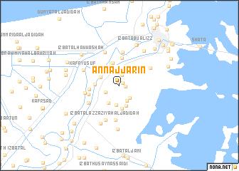 map of An Najjārīn