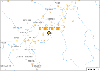 map of Annatunan
