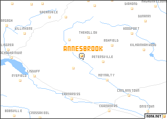 map of Annesbrook