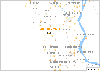 map of An Nihāyah