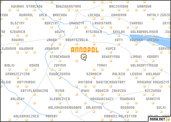 map of Annopol