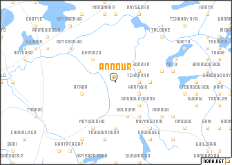 map of Annour