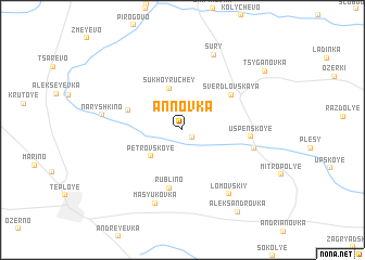 map of Annovka