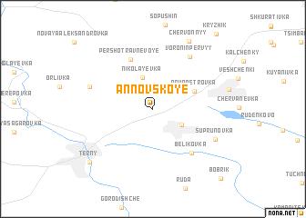 map of Annovskoye