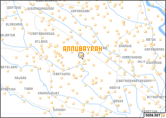 map of An Nubayrah