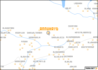 map of An Nuhayd