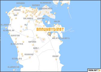 map of An Nuwaydirāt