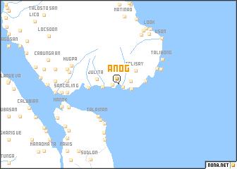 map of Anog